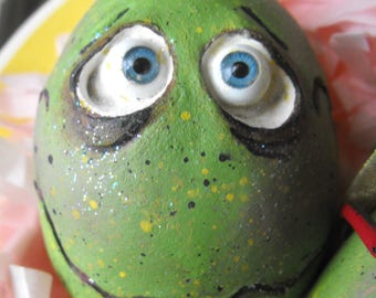 Spooky Hollow Easter egg ornament