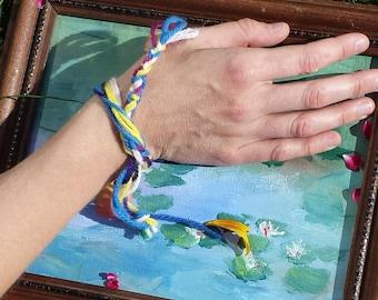 Braided Bracelets Bookmarks