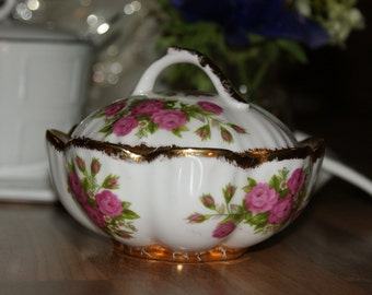 Vintage/Rare Olde World Crafts Sugar Bowl Limited No Edition