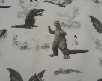 Godzilla Shirt  Gamera, King Ghidora, Mothra, Gigan, Kaiju Mens Shirt Custom your size.