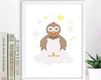Nursery Farm Animal Print,  Animal Printable Wall Decor, Instant Download Digital Art, Kid Room Decor,  Nursery Animal Print