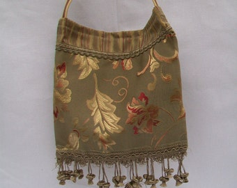 Elegant Up-cycled Tote Bag