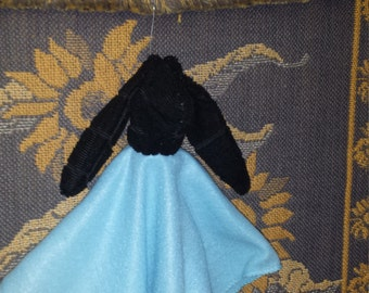 Daschund Doxie Baby Security Blanket Small