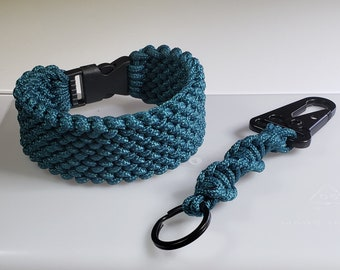 Custom Paracord Bracelet and keychain