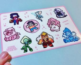 Steven Universe Sticker Sheets
