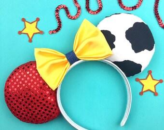Disney inspired Toy story Jessie Woody Minnie Mouse eras