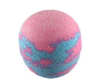 Blue Raspberry Cotton Candy Bath Bomb
