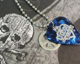 House of Blues Guitar Pick Necklace
