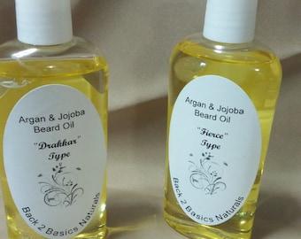 Argan & Jojoba Beard Oil