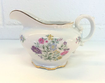 Yamaka China Spring Time Creamer China 1534 Japan Floral Flowers