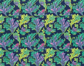 Tula Pink Fabric Tabby Road Eek in Blue Bird Choose your cut