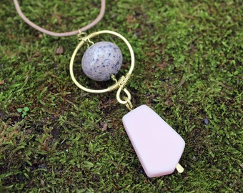 Stone & Resin Necklace