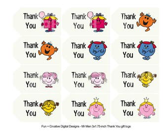 Little Miss Thank You Tags