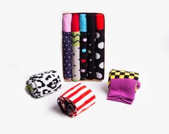 Men's Dress Socks, Groomsmen Socks, Men's Socks, Colorful Socks, Fun Socks by Mr.ZZ 5-Pack