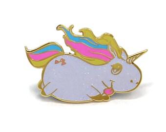 Glitter Unicorn, Unicorn Enamel Pin, Glitter Enamel Pin, Lapel Pin, Hard Enamel Pin, Unicorn Gift, Valentines Day Gift, Valentines Day