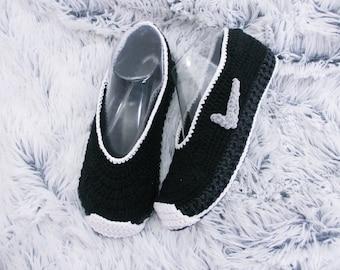 Crochet Shoes Crochet slippers  Crochet Sneakers Bedroom slippers, Sock slippers, House slippers, Child slippers, Adult slippers