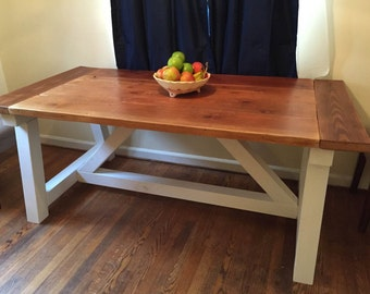 Farm House Chic Dining Room Table