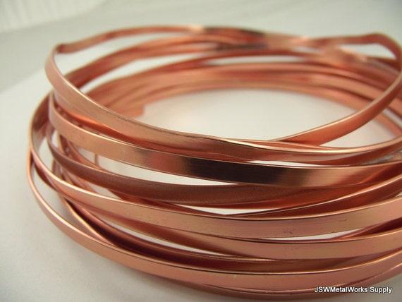 Kupfer eloxiert Aluminium Flachdraht Flachdraht 4 x 12 mm