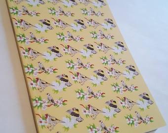 A6 Goldfinch Notebook