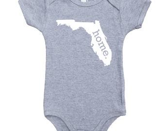 Homeland Tees Florida Home Unisex Baby Bodysuit