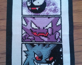 Ghost Pokemon Pattern