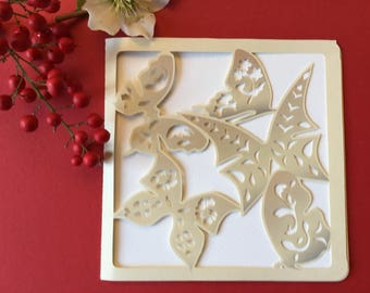 birthdays, anniversaries, any occasion: cut out butterflies