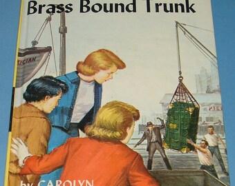 Nancy Drew #17 Mystery Brass Bound Trunk Orig Text PC