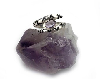 The Guardian Ring Amethyst