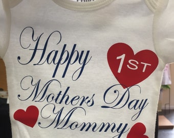 Mother's Day baby onesie