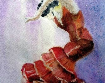 WATERCOLOR Andalusian dancer
