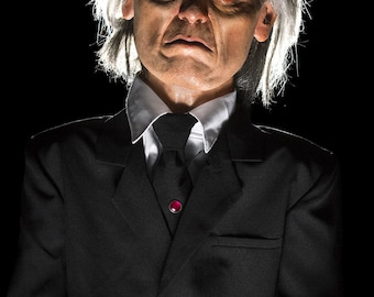 PHANTASM TALL MAN Puppet Dummy Doll Ooak Autographed by Angus Scrimm