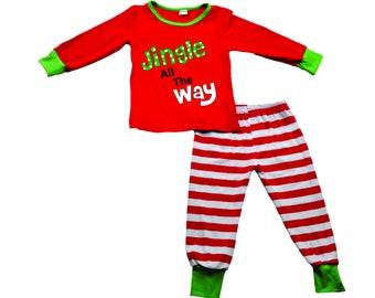 Boy's Jingle All The Way Christmas Pajamas