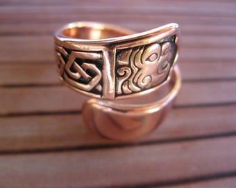 Adjustable Copper Ring 1306