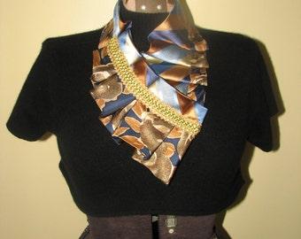 NEW - Necktie Necklace - Silk Necktie Accessorie - Unique Gift - Refashioned necktie