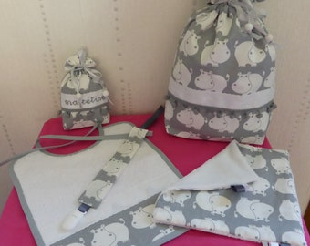 Birth - gray and white - small gluttons gift
