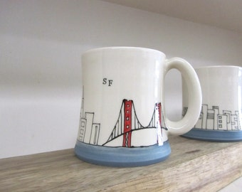 MADE TO ORDER ~ San Francisco Mug