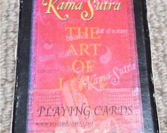 Kama Sutra - The Art of Love - Pack of Pictorial Playing Cards
