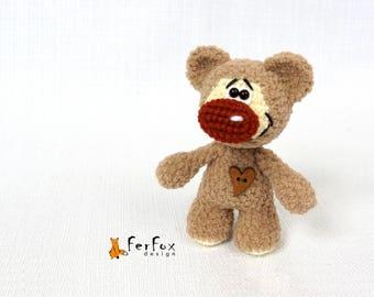Plush teddy bear gift Stuffed teddy bear Girlfriend gift Soft teddy bear lover gift Valentines gift for her Stuffed animals Woodland animals