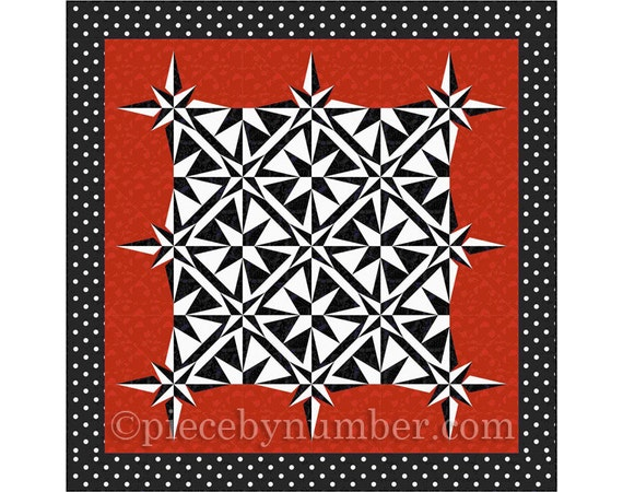 Sailor 39 s Star Quilt pattern paper