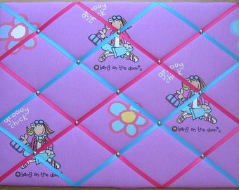 Bang on the Door - Large Notice/Memo Board - Free P&P