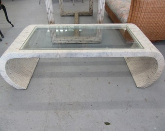 Woven Ming Style Coffee Table
