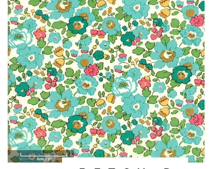 LIBERTY RUFFLE Collar Liberty Art Fabric Betsy D (green) Children and Women's sizes
