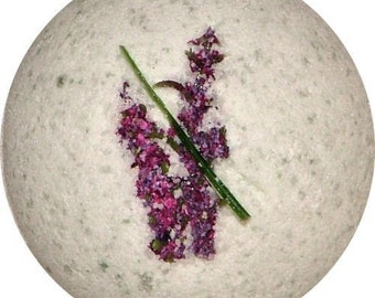 Lavender Essential Oil Bath Bomb 60mm