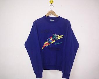 Rare!!! Benetton Forza Formula One Suzuka Sweatshirt crewneck Vintage SHjrhd