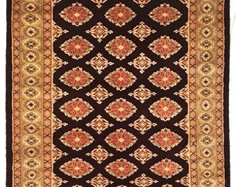 Bokhara Silk Wool Rug