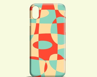 Rounds phone case / retro iPhone 8 case / iPhone X / 8 Plus /  iPhone 7 / 7 Plus / iPhone 6 / iPhone SE / Samsung Galaxy S7 / Galaxy S6, S5
