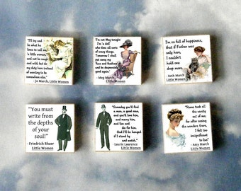 LITTLE WOMEN Magnet Gift Set