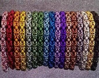 Solid Byzantine Bracelet