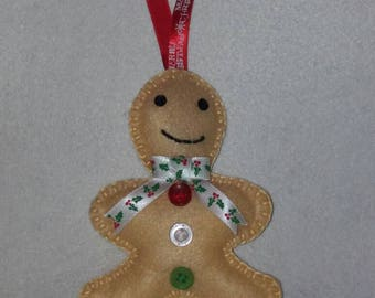 Christmas Gingerbread man tree decoration