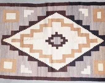 Navajo Rug: native american crystal weaving